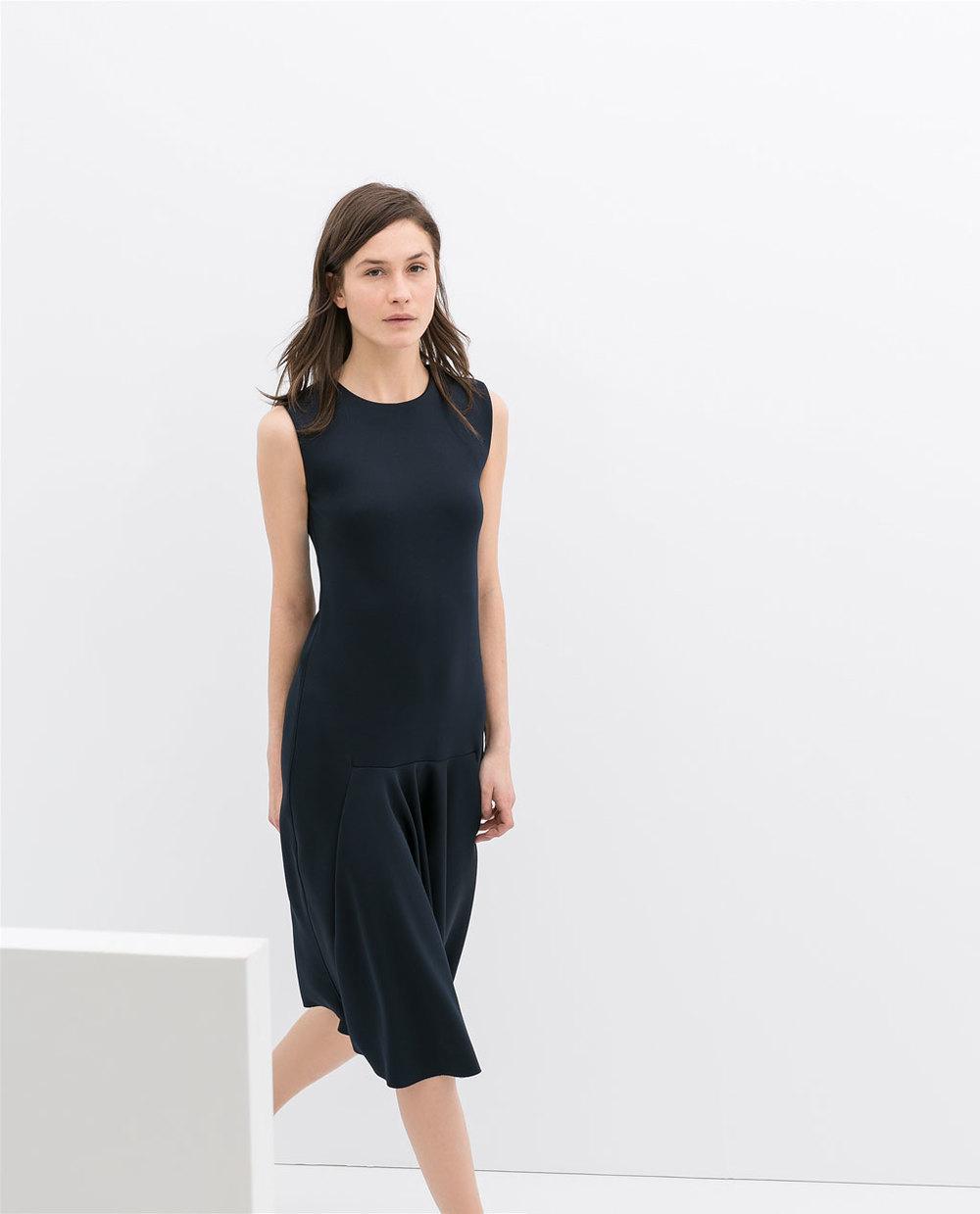 Neoprene Midi dress. Zara. $69.90.