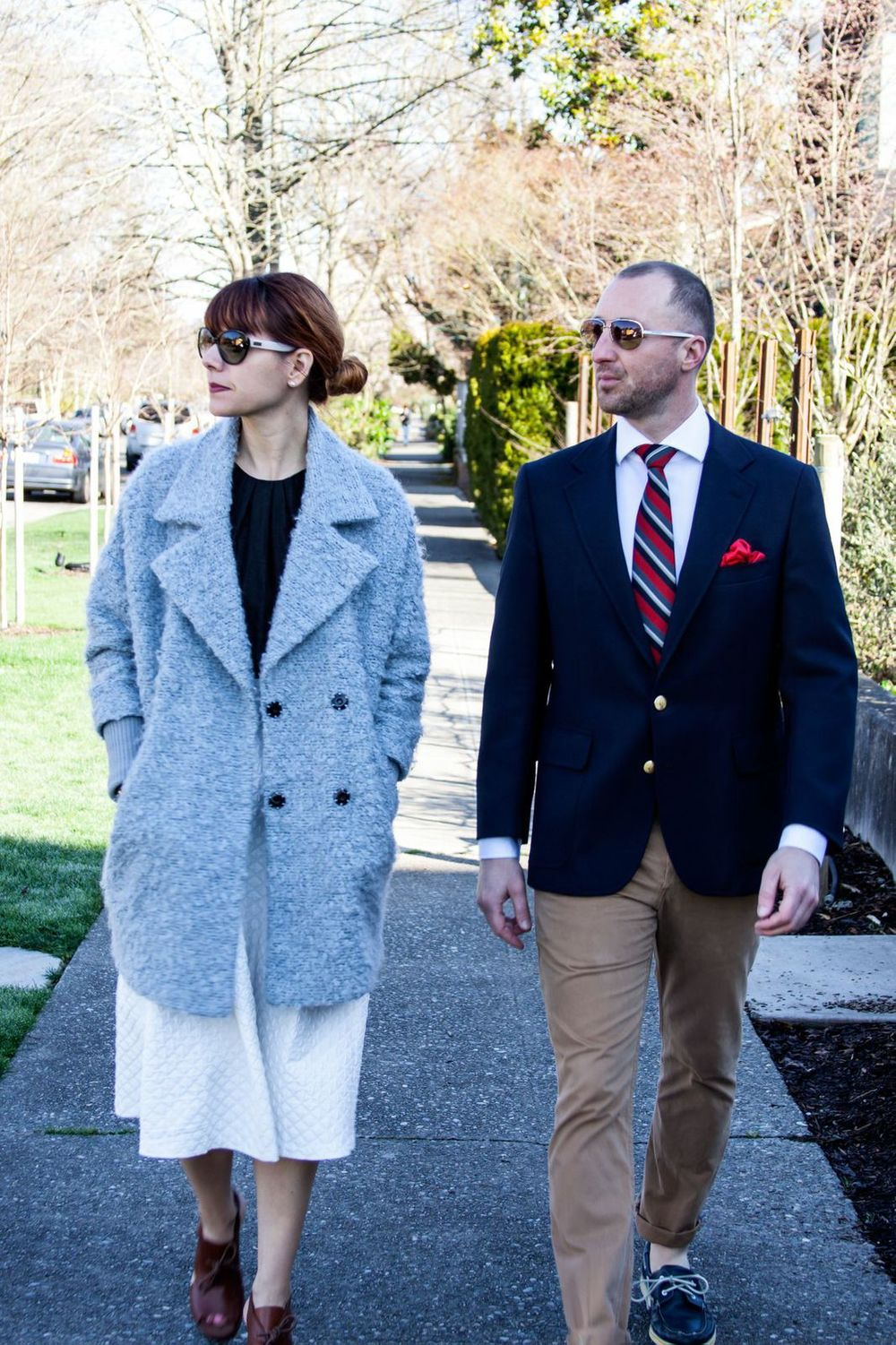 Here I am with my very stylish friend and acupuncturist, Brad Thompson. You'll learn more about him and his personal style in a future blog post. Keep your eyes peeled! And, you'll learn more about my outfit as you read the post below. Enjoy!