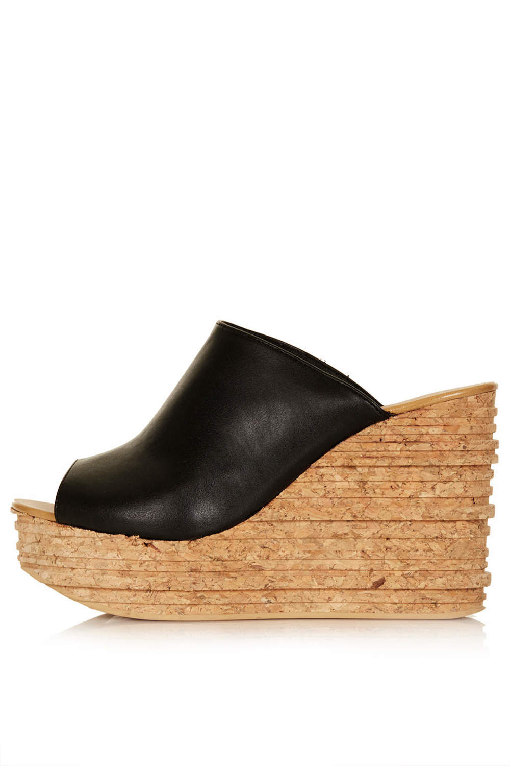 Walnut mule wedges. Also available in white. Topshop. $110.