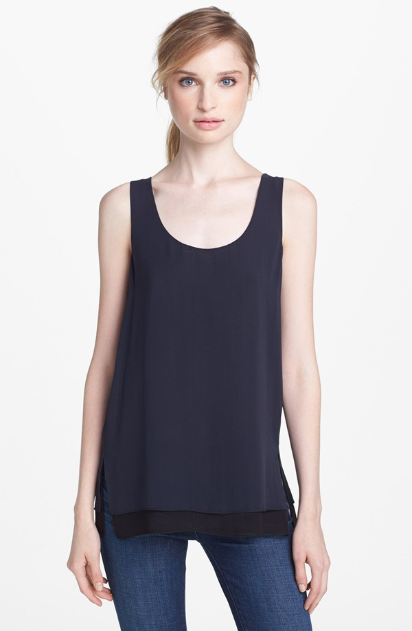 Vince Double layer tank. Nordstrom. Was: $185 Now: $109.