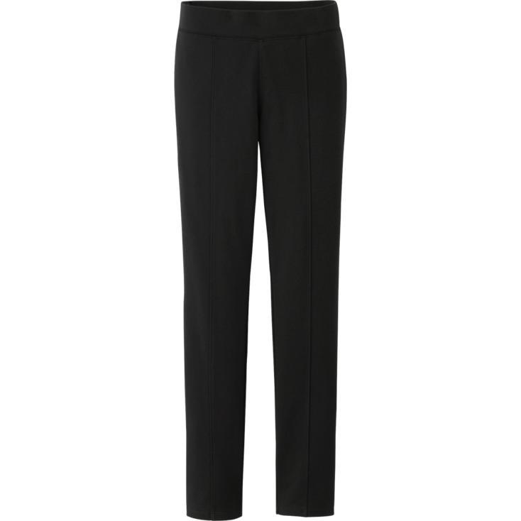 Women ponte leggings pants. Available in multiple neutral colors. Uniqlo. $29.90.