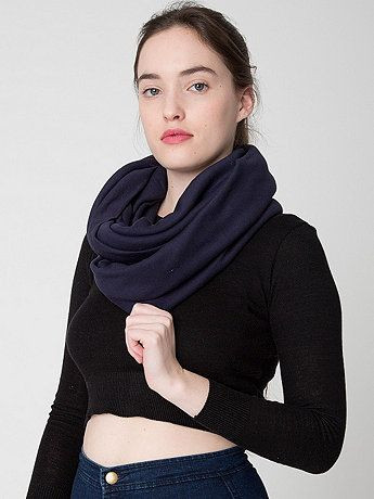 The Unisex Circle Scarf. Available in multiple colors. American Apparel. $28.