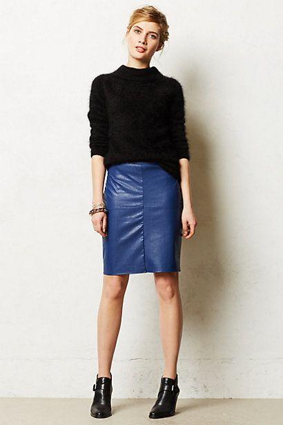 Majorelle Pencil skirt. Anthropologie. $198.