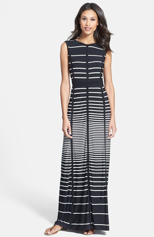 Taylor stripe jersey maxi dress. Nordstrom. $118.