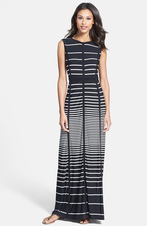 Taylor stripe jersey maxi dress. Nordstrom. $118.