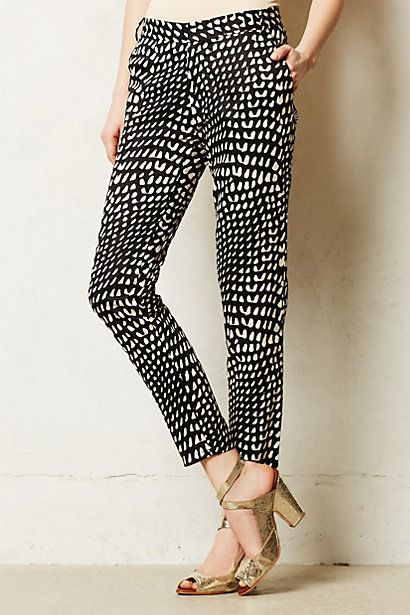 Foret Trousers. Anthropologie. $128.