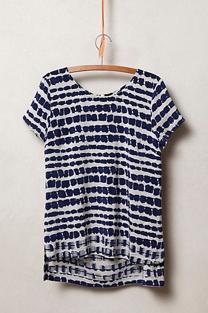 Lila Tee. Available in blue, pink. Anthropologie. $98.