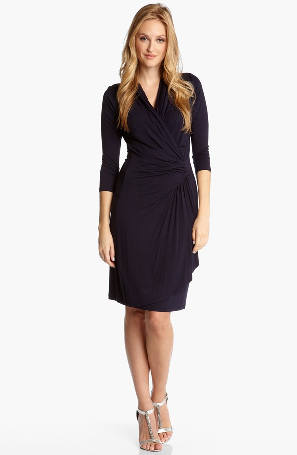 Karen Kane Cascade faux wrap dress. Available in multiple colors. Nordstrom. $108.