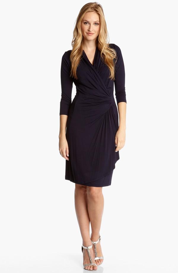 Karen Kane Cascade faux wrap dress. Available in multiple colors. Nordstrom. $108.