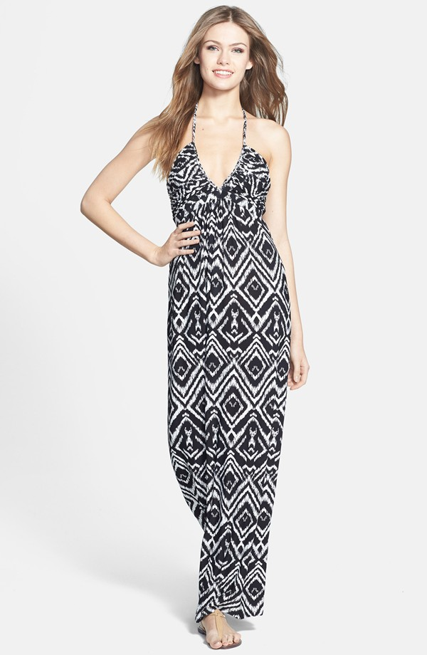 Tbags Los Angeles Print jersey maxi dress. Nordstrom. $188.