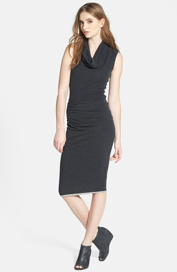 James Perse Cowl neck sleeveless dress. Nordstrom. $245.