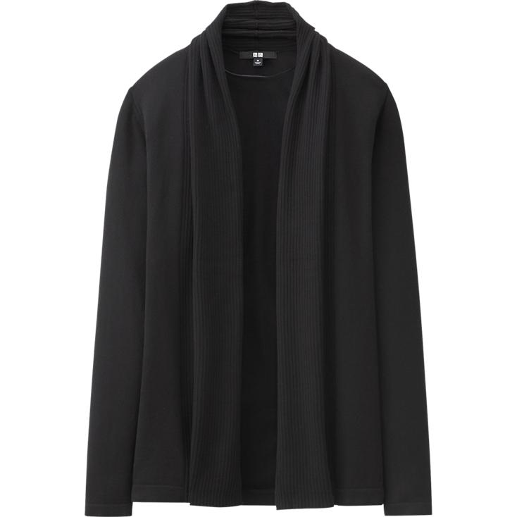 UV cut stole cardigan. Available in multiple colors. Uniqlo. $39.90.