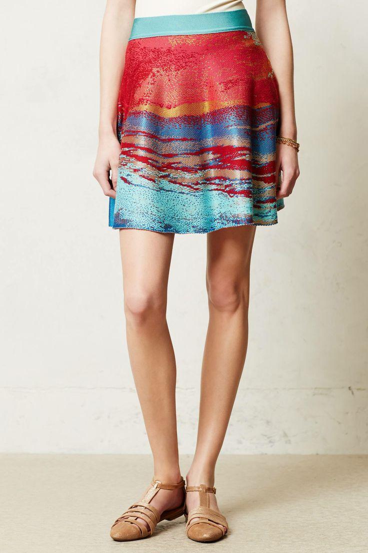 Horizons sweater skirt. Anthropologie. $198.