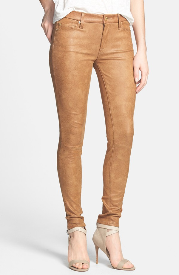 7 For All Mankind The Skinny Faux Leather Skinny pants. Nordstrom. $198.