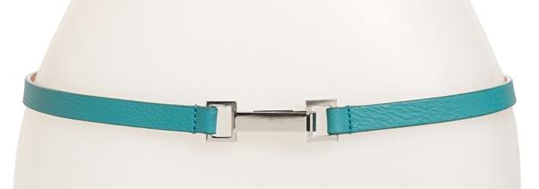 Lafayette 148 New York Leather skinny belt. Nordstrom. $98.