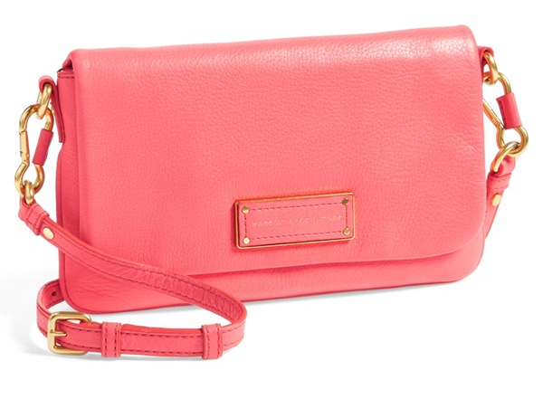 Marc by Marc Jacobs Too Hot to Handle Percy Crossbody bag. Bright coral. Available in multiple colors. Nordstrom. $248.