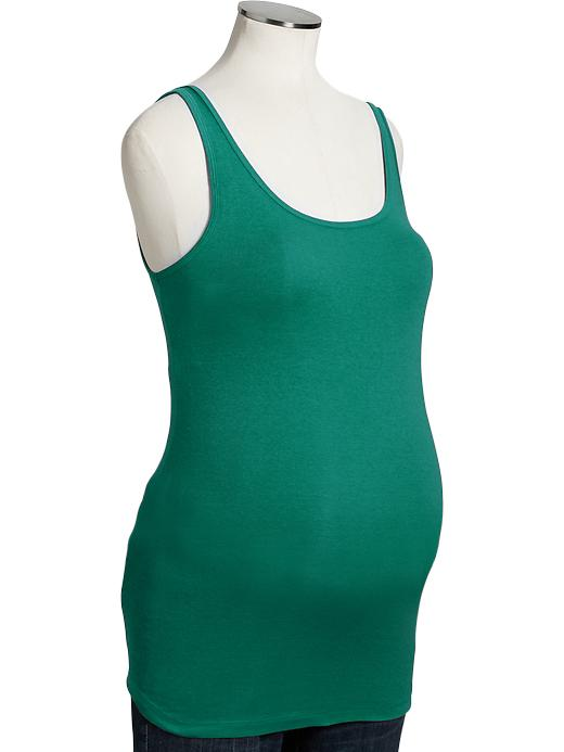 Maternity jersey stretch tami (aka tank/ cami). Multiple colors available. Ranges from $8-15 each.