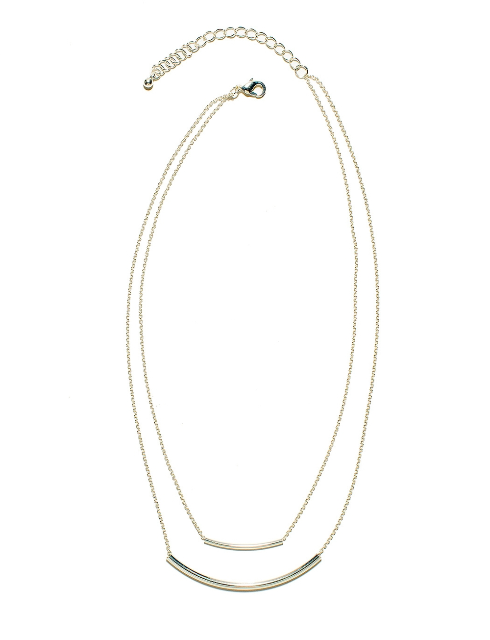 Double Strand curve necklace. The Limited. $24.90. Now: 40% off.