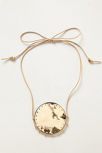 Oak Moon necklace. Anthropologie. $178.