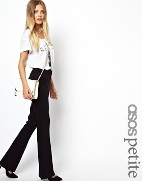 ASOS Petite in Kickflare with pin tuck. ASOS. $41.39.