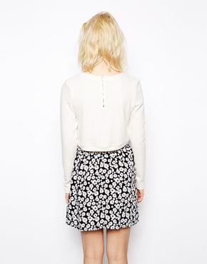 Glamorous Petite Crop fine gauge sweater. ASOS. Was: $37.63 Now: $28.22.