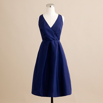 Petite Ruthie Dress in silk taffeta. Available in multiple colors. J Crew Outlet. Valued at $250. Now: $69-79.