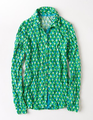 Boden Crinkle jersey shirt. Available in multiple color combinations. Boden. Was: $68 Now: $61.20.