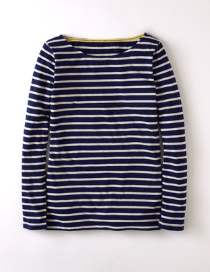 Long sleeve Breton. Available in multiple colors/prints. Boden. $38.