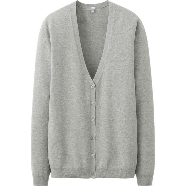 Uniqlo UV Cut V Neck cardigan. Available in multiple colors. Was: $29.90 Now: $19.90.