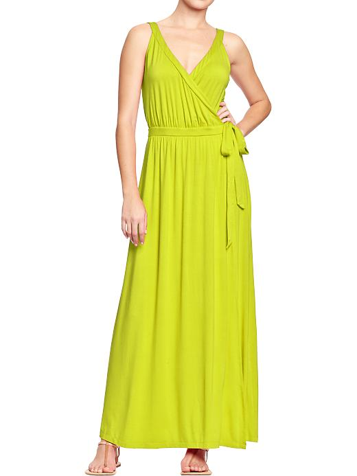Cross Front Maxi dress. Available in multiple colors. Old Navy. Was: $36.94 Now: $20.