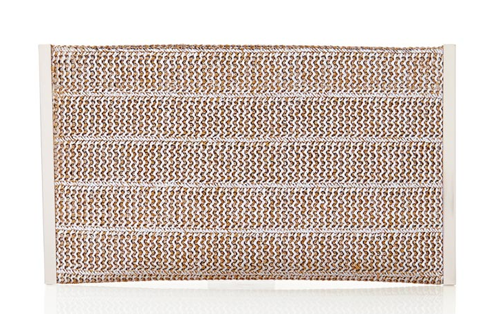 Woven Foil Clutch. The Limited. Was: $39.95 Now: $19.97.