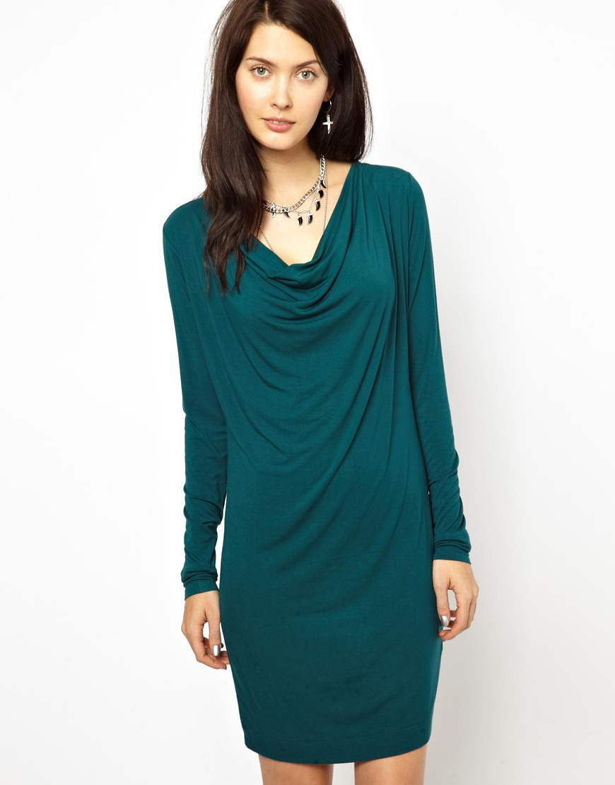 Diesel Cowl Neck body conscious dress. ASOS. $150.51.