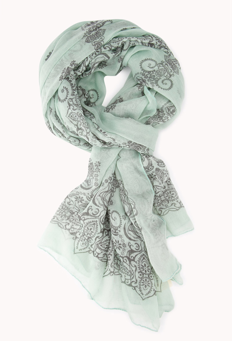 Boho Summer weight scarf. Forever 21. $8.80.