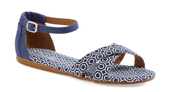 TOMS Correa Jonathan Adler sandal. Nordstrom. $58.95.
