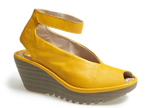 Fly London Yala Sandal. Available in silver, black, yellow. Nordstrom. $174.95.