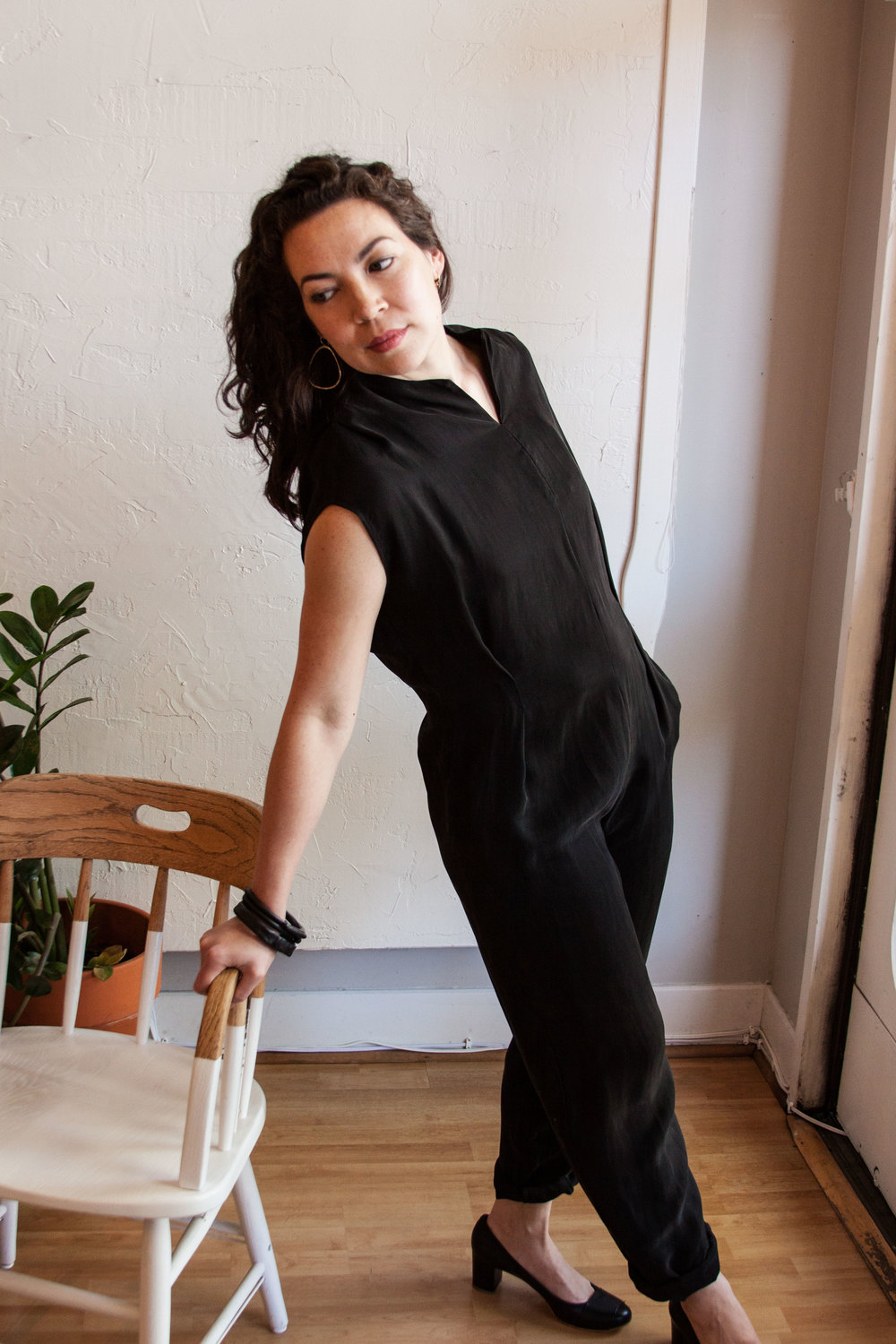 Seriously, you can rock a jumpsuit. You just need the right one for your body type. Look at Chica go! And, it's on sale....