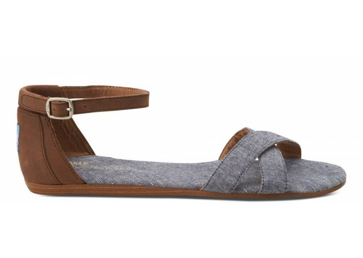 TOMS Blue chambray correa sandals. TOMS. $59.