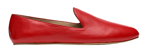 Kate Spade Lazy Loafer. Available in black, red. Saturday.com. $110.