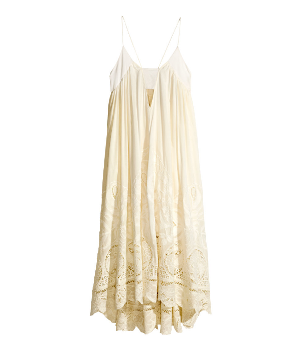 Embroidered Cotton Dress. H&M. $129$