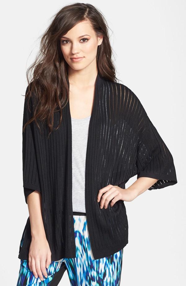 Leith Ribbed Kimono sleeve cardigan. Nordstrom. $62.