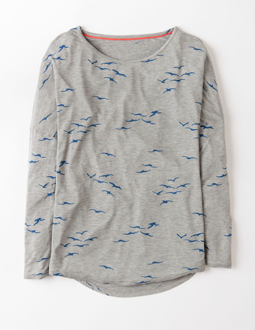 Must Have Tee. Available in grey, blue, papaya. Boden. Was: $54. This weekend: $40.50.