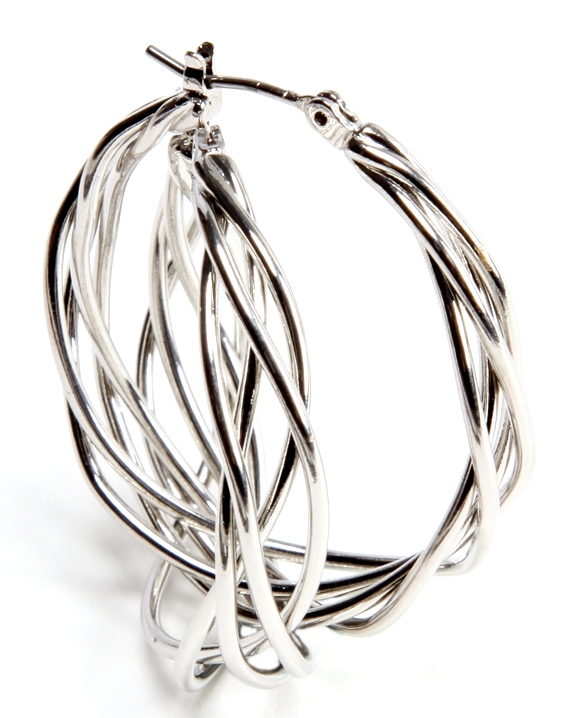 Twisted wire hoop earrings. The Limited. Was: $19.90. Today: $11.94.