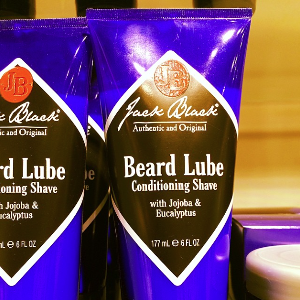 See! They do have it all. Jack Black Beard Lube.