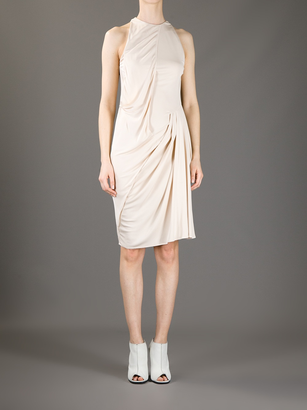 Acne Studios Piper Jersey Dress. Was: $367.90 Now: $183.95.