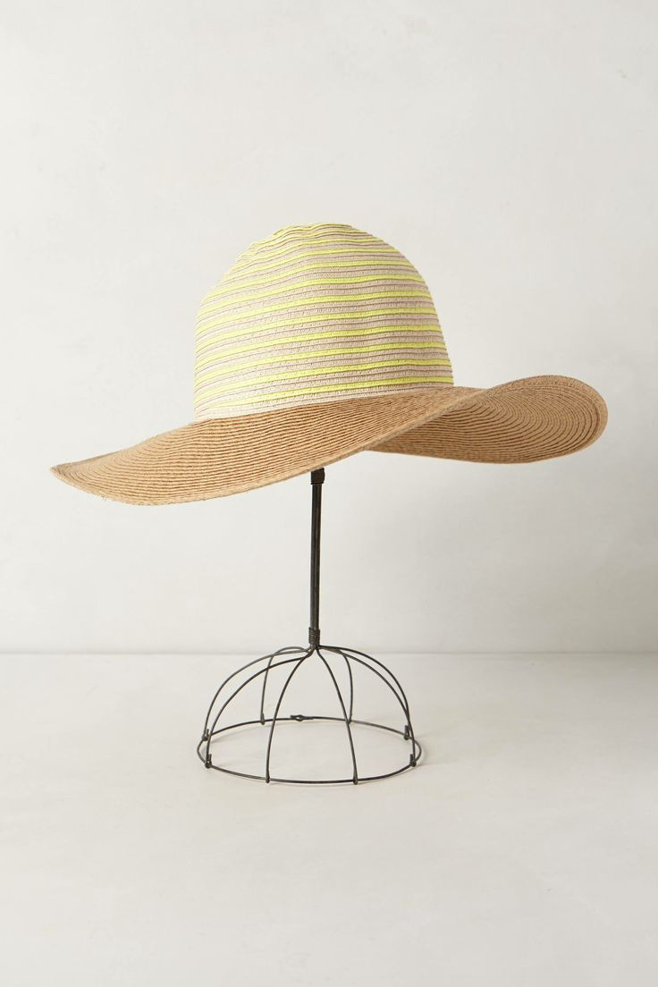 Striped Ampato hat. Anthropologie. $38.