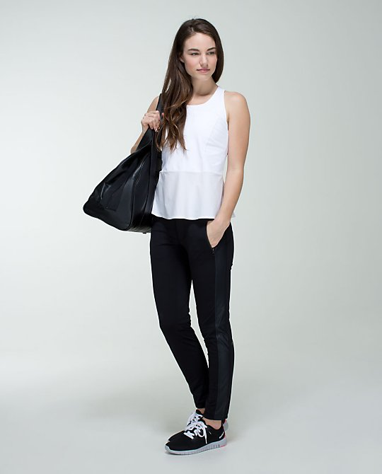 Lululemon Here to There Pant. Available in cadet blue, black. Lululemon. $118.