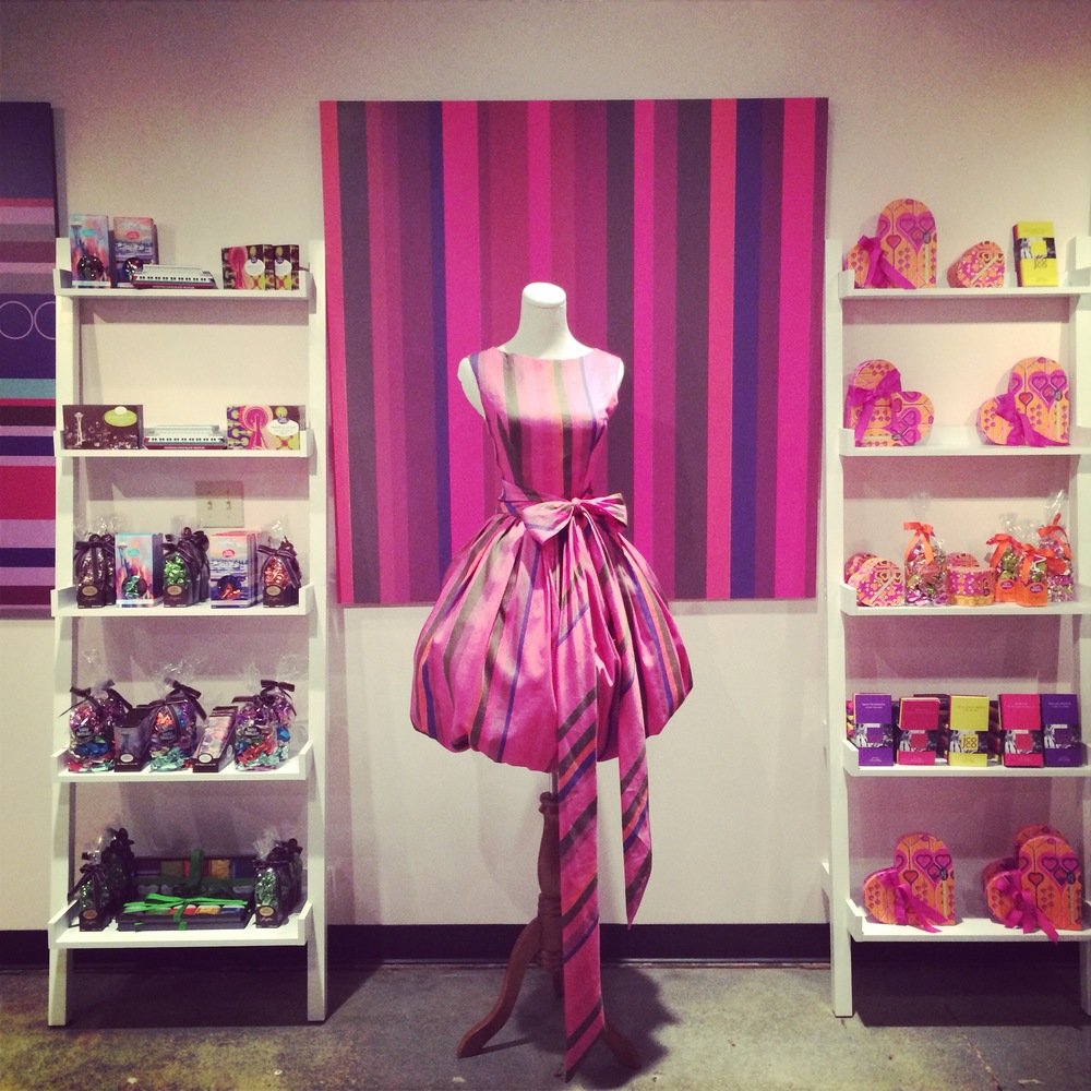 Are you seeing this? Inside the JCOCO Showroom. All offices should include fashion and chocolate.