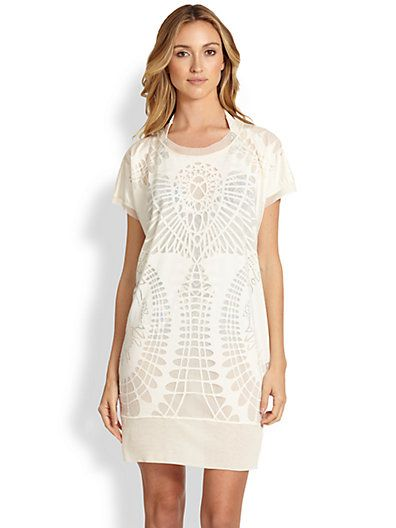 Jean Paul Gaultier Lace Print tunic. Saks Fifth Avenue. : $425. Now: $297.50.