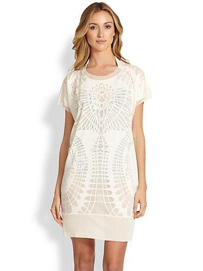 Jean Paul Gaultier Lace Print tunic. Saks Fifth Avenue.: $425. Now: $297.50.