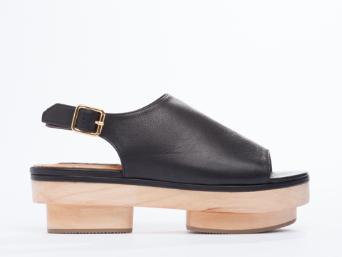 Personal style words: Japanese-inspired, bold, metropolitan. Xperimental Akira Asami. Solestruck. $219.95.